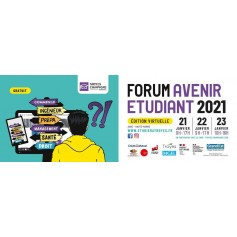 FORUM AVENIR ETUDIANT 2021 - virtuel
